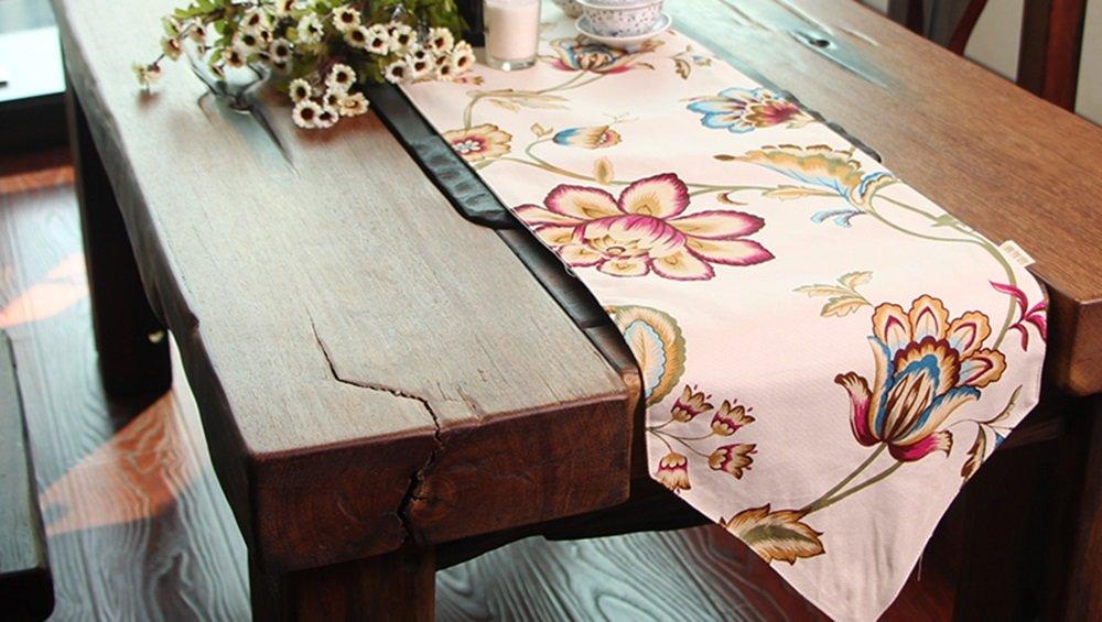Simple fashion table flag Pastorale  Mode-Tischfahne (größe : 30  Pastorale 220cm) c29468