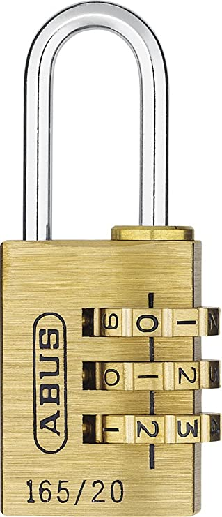 ABUS 165//20 3-Digit Combination Padlock