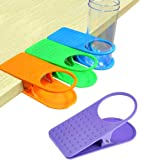 Colorful Clip On Table Cup Holders - Set Of 4