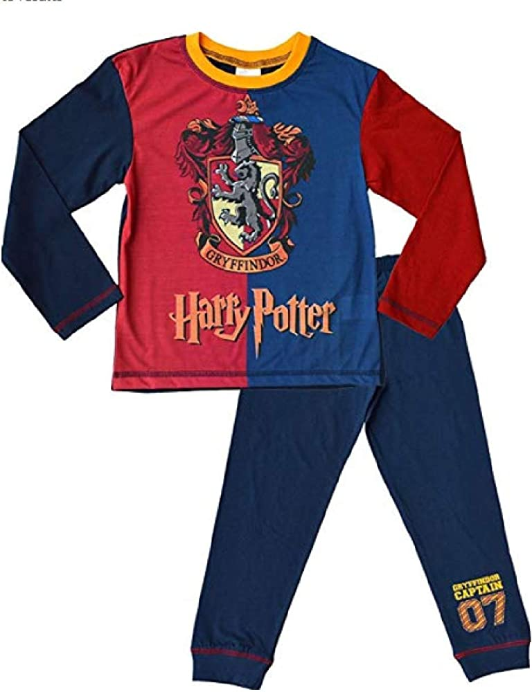 9-10 and 11-12 Years 7-8 Ages 5-6 Harry Potter Pyjamas