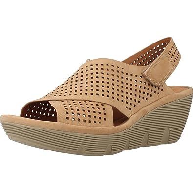 187928292078 Clarks Clarene Award Womens Sandals 2.5 Mahogany  Amazon.co.uk ...