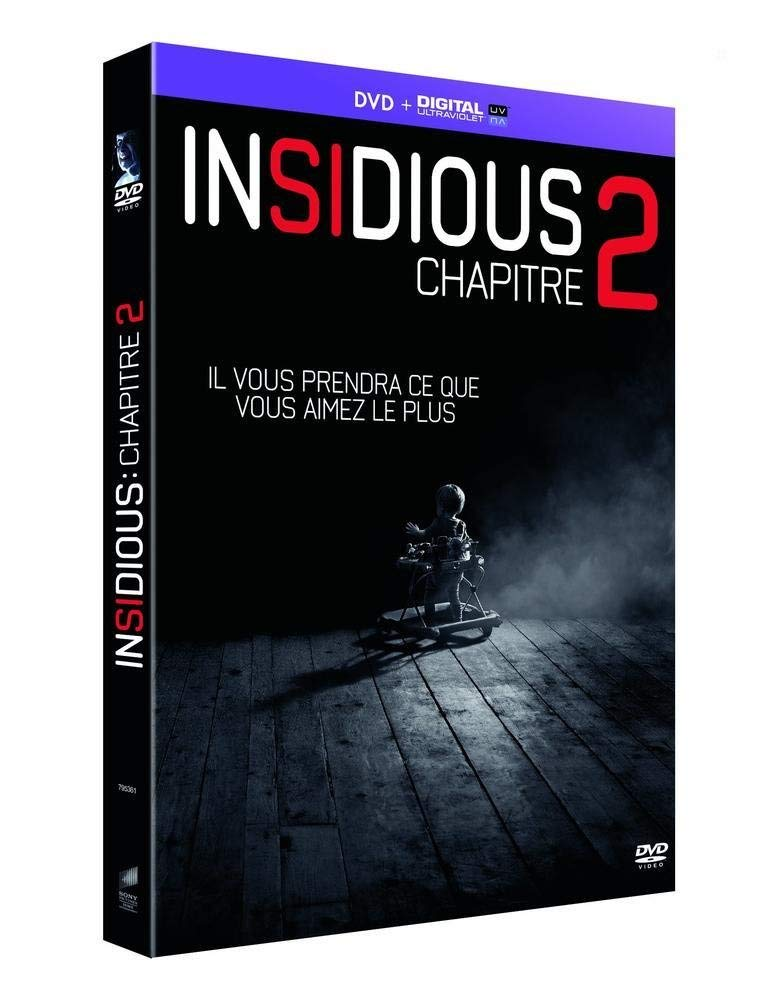 Insidious : Chapitre 2 [Francia] [DVD]: Amazon.es: Patrick Wilson, Rose Byrne, Ty Simpkins, Lin Shaye, Barbara Hershey, Steve Coulter, James Wan, Patrick Wilson, Rose Byrne: Cine y Series TV