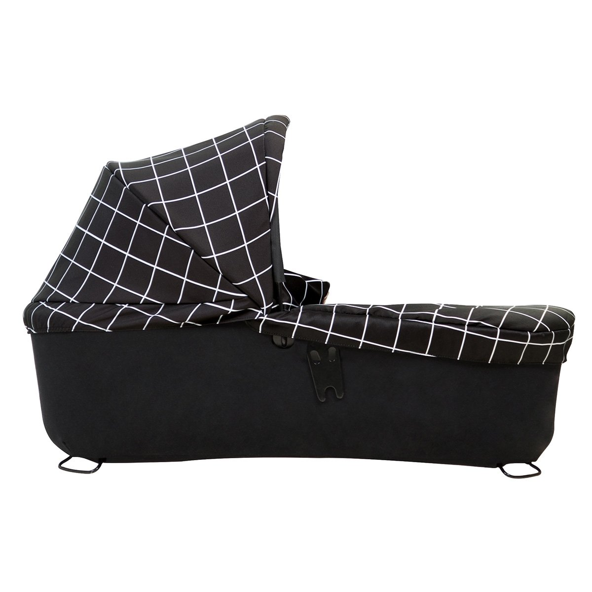 Mountain Buggy Carrycot+ for Duet, Grid, Black/White