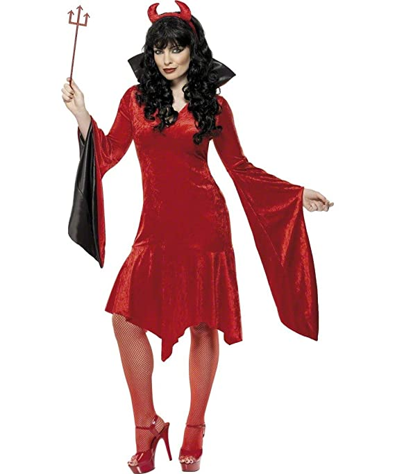 Desconocido Disfraz de diablesa para mujer| ideal para Halloween ...