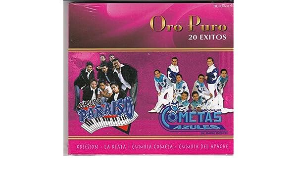 Los Cometaz Azules. Grupo Paraiso - Oro Puro - 20 Exitos: Grupo Paraiso & Los Cometaz Azules - Amazon.com Music