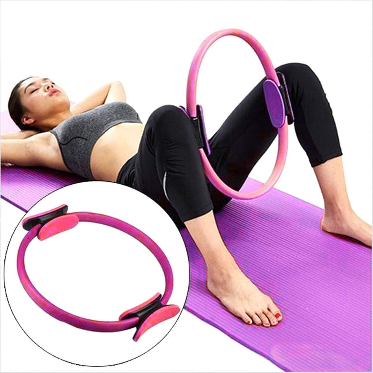 Ballylelly Professionelle Fitness Zauber Verpackungs-Yoga Pilates Ring Abnehmen Bodybuilding Trainings-Yoga-Kreis-Gymnastik-Trainings-Trainings-Werkzeug