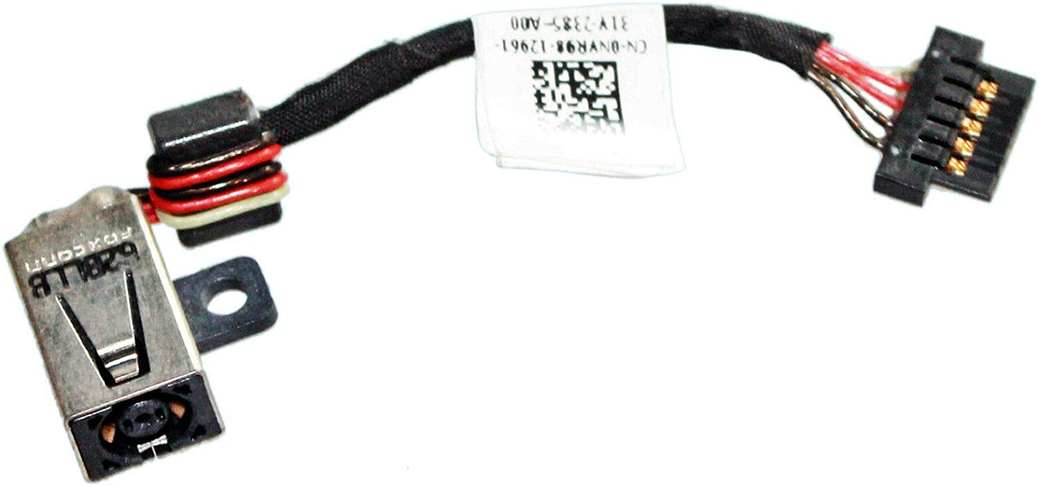 Laptop Replacement DC Power Jack Harness Cable Compatible with Dell XPS 12 9Q33 Laptop