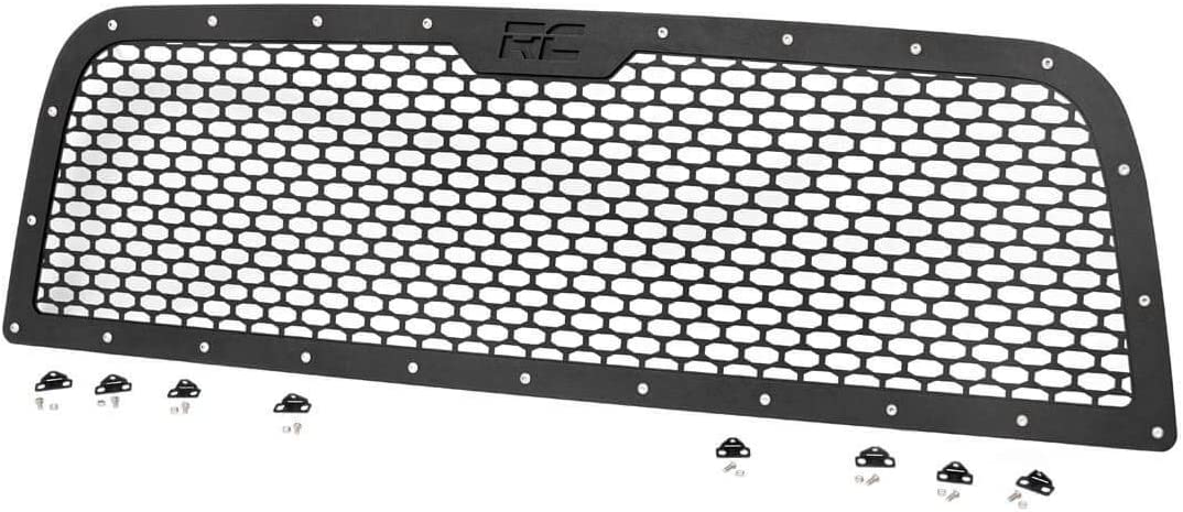 2013-2019 RAM Truck 2500 3500 70150 fits Rough Country Custom Black Mesh Grille