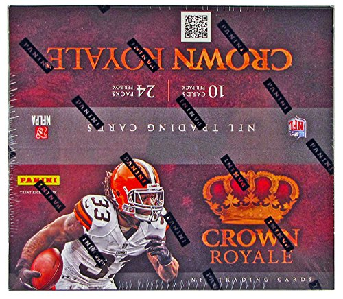 2012 Crown Royale NFL Football 24 Pack Retail Box - One Autograph or Memorabilia Card Per ()