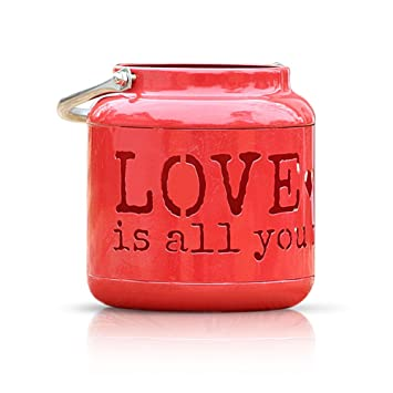 Hermoso romántico hierro hueca soporte para vela con forma de corazón Candle Stick Candelabro Soporte de ...