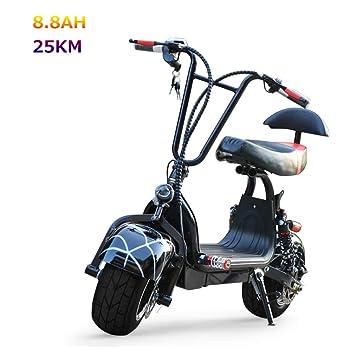 JCOCO Scooter Electrico Moto, Bicicleta eléctrica Harley ...