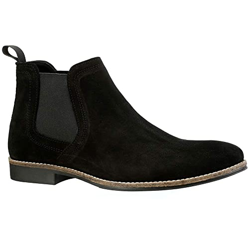 1a52ef960c0 Red Tape Stockwood Tan Suede Classic Chelsea Boots