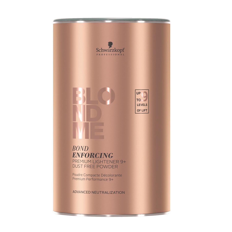 Schwarzkopf BlondMe Bond Enforcing Premium Lightener 9+ Dust Free Powder - 15.8 oz 4045787369854