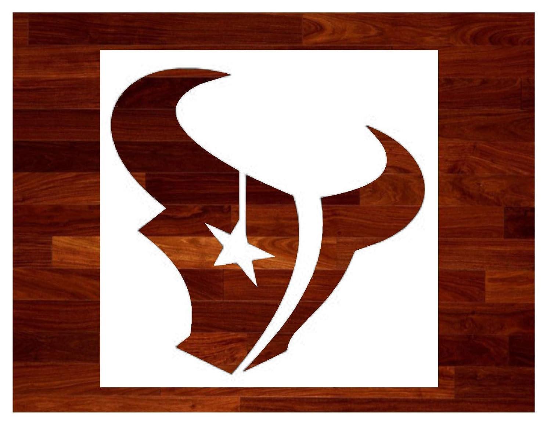 Texans ~ Stencil ~ Multiple Sizes ~ Custom Stencil