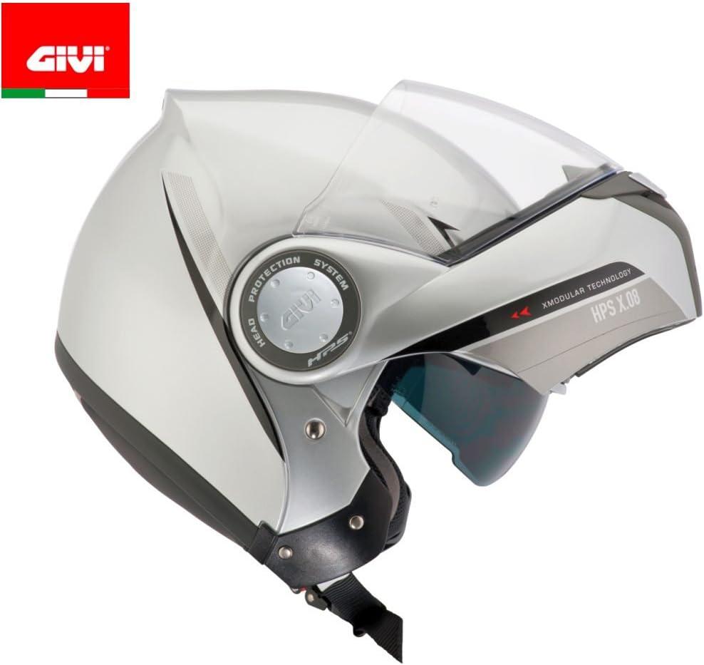Silber Givi HPS HX08 X-Modular Klapphelm S