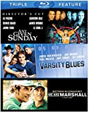football blu ray - Football Triple Feature: Any Given Sunday / Varsity Blues / We Are Marshall [Blu-ray]
