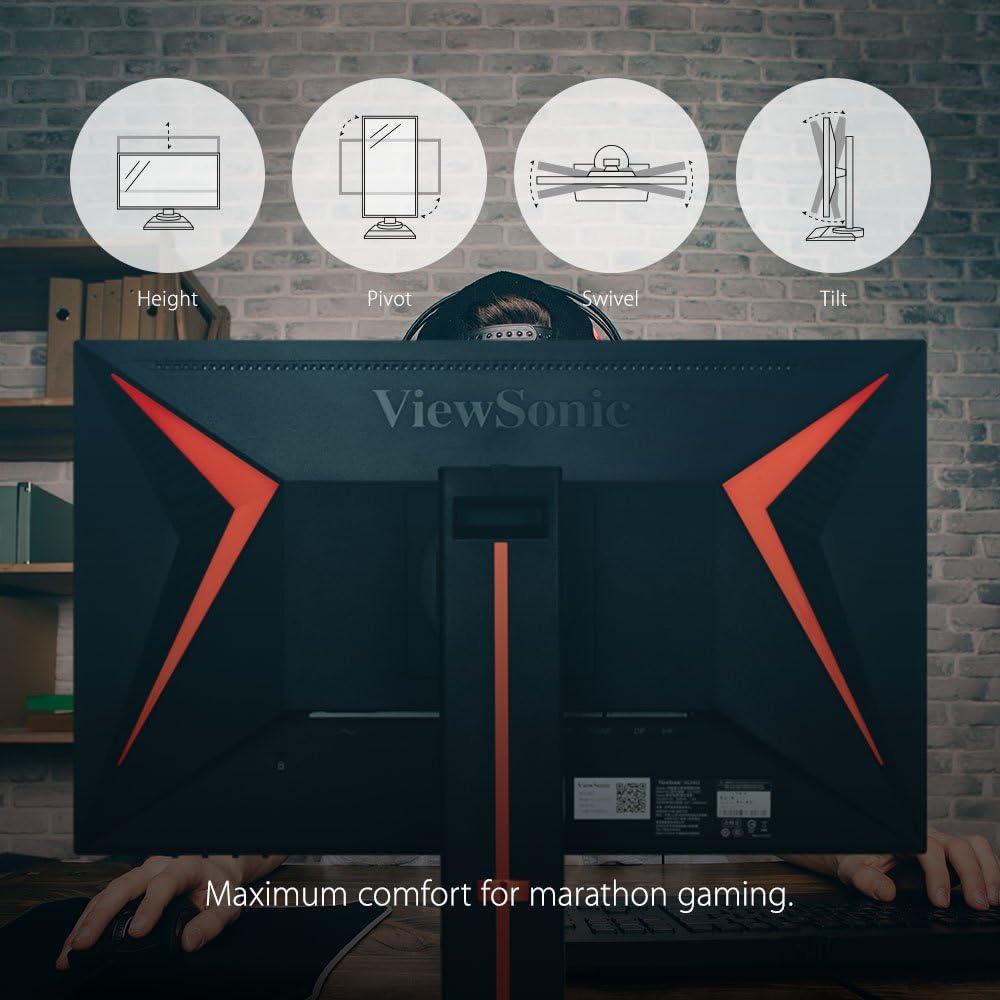 Monitor Gamer, ViewSonic, XG2402, 24