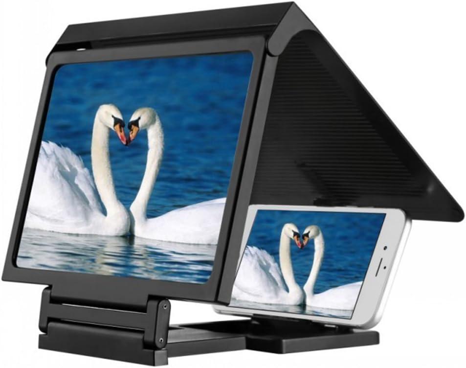 Dupad Historia pantalla lupa 3d película portátil plegable pantalla HD amplificador para teléfono móvil (negro): Amazon.es: Electrónica