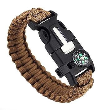 paracord armband mit feuerstarter