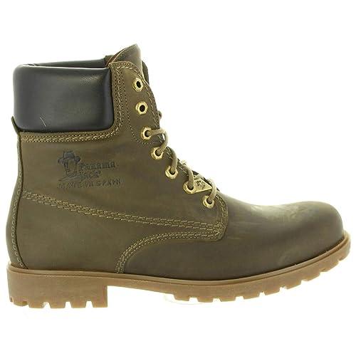 Botas de Hombre PANAMA JACK Panama 03 C18 NAPA Grass Kaki Talla 45: Amazon.es: Zapatos y complementos