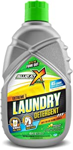 Sweat X Sport Extreme Laundry Detergent, High Performance Sports Wash for Activewear and All Fabrics, 45 Loads
