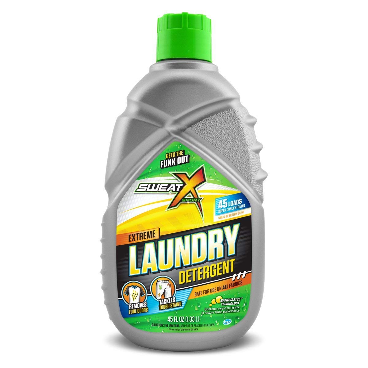 Sweat X Sport Extreme Laundry Detergent, High Performance Sports Wash for Activewear and All Fabrics, 45 Loads by Sweat X