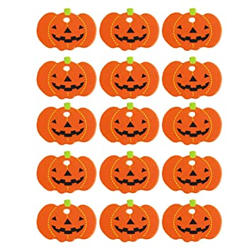 Halloween Gift Tags.Amazon Com Amosfun Halloween Pumpkin Paper Gift Tags Hanging