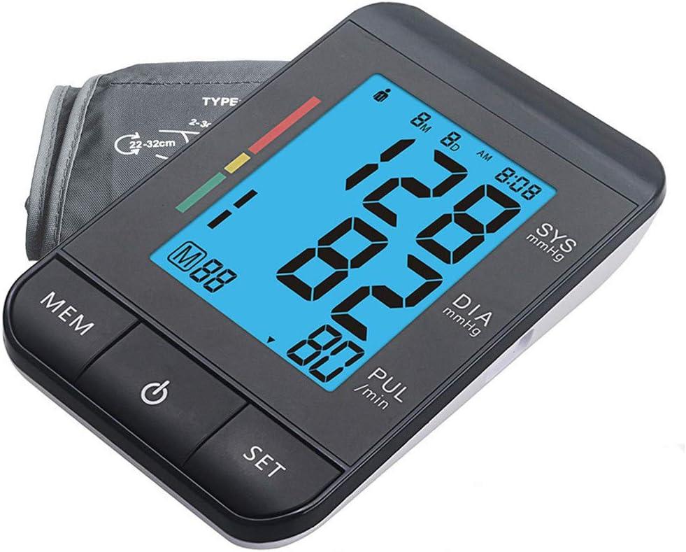 ZAAQ Monitor De Presión Arterial De Brazo Automático Súper Delgado Medidor De Atención Médica Digital Tonómetro Esfigmomanómetro Automático