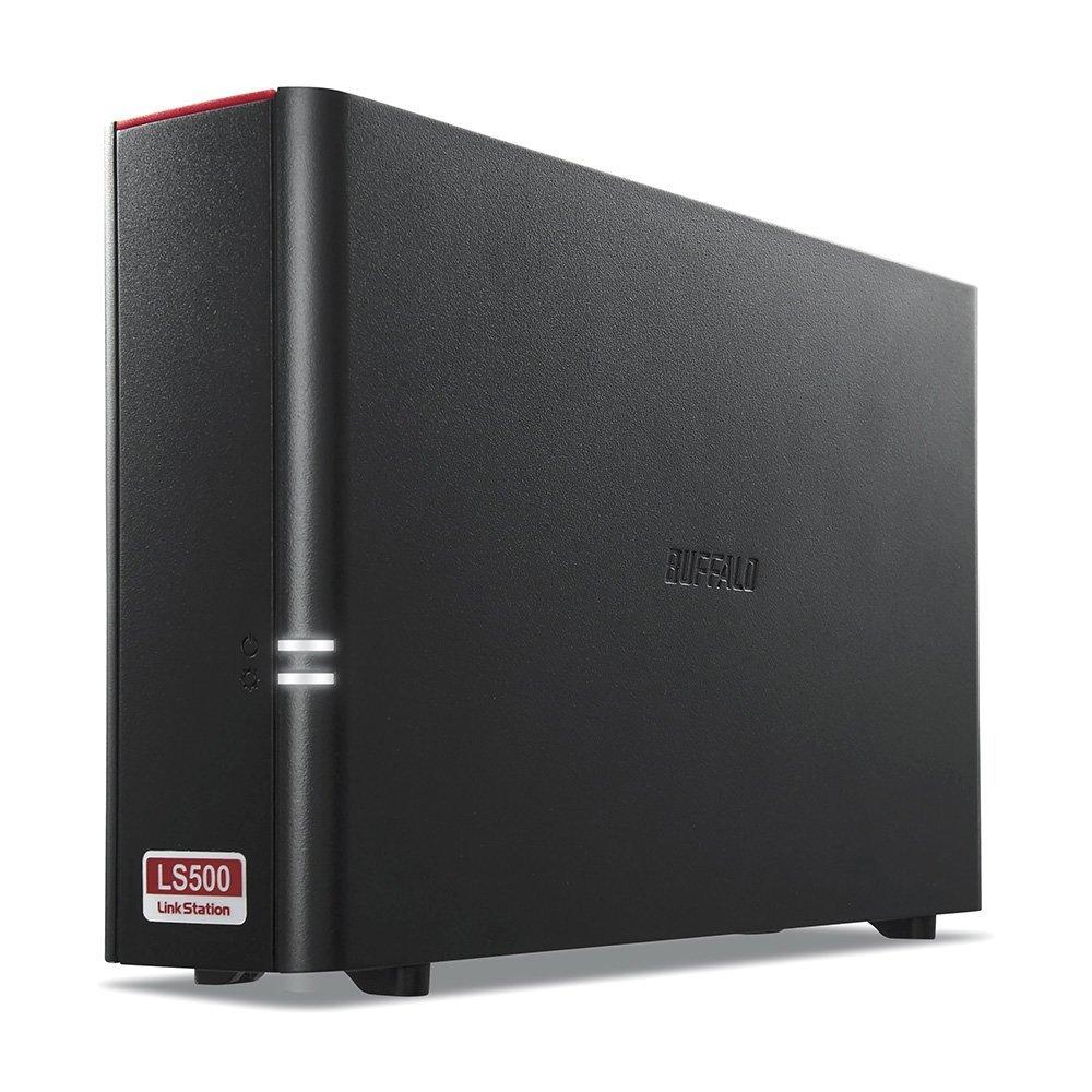 BUFFALO スマホ・タブレットで使える ネットワークHDD(NAS) デュアルコアCPU 高速モデル 4TB LS510D0401