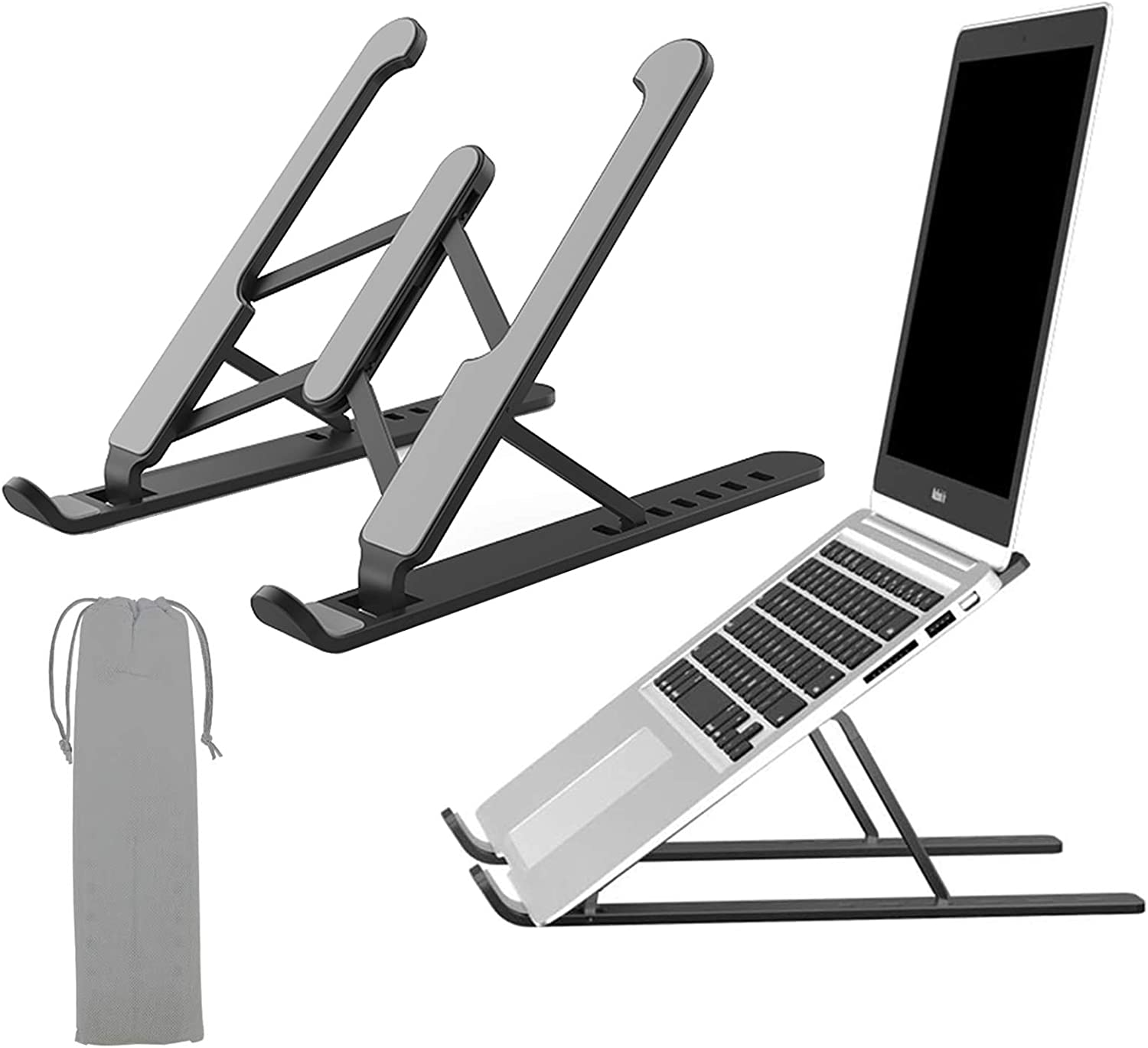 Laptop Tablet Stand Notebook Computer Stand Tablet Computer Stand Universal Lightweight Adjustable Laptop Computer Stand Ergonomically Designed for Home & Office
