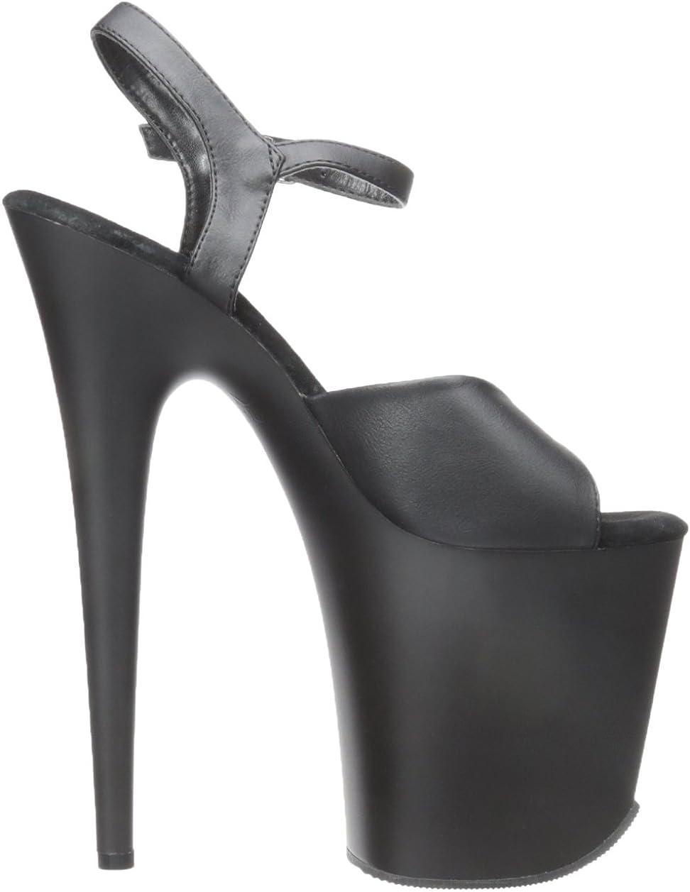Sandales Bout Ouvert Femme Pleaser Flamingo-809