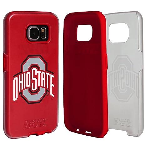 5d5c08f22b0 Amazon.com  Ohio State Buckeyes Clear Hybrid Case for Samsung Galaxy ...