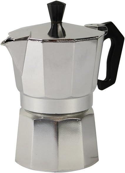 Espresso eléctrica 2 – 3 tazas Cafetera Italiana (Espresso ...