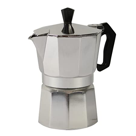 Espresso eléctrica 2 - 3 tazas Cafetera Italiana (Espresso Maker ...
