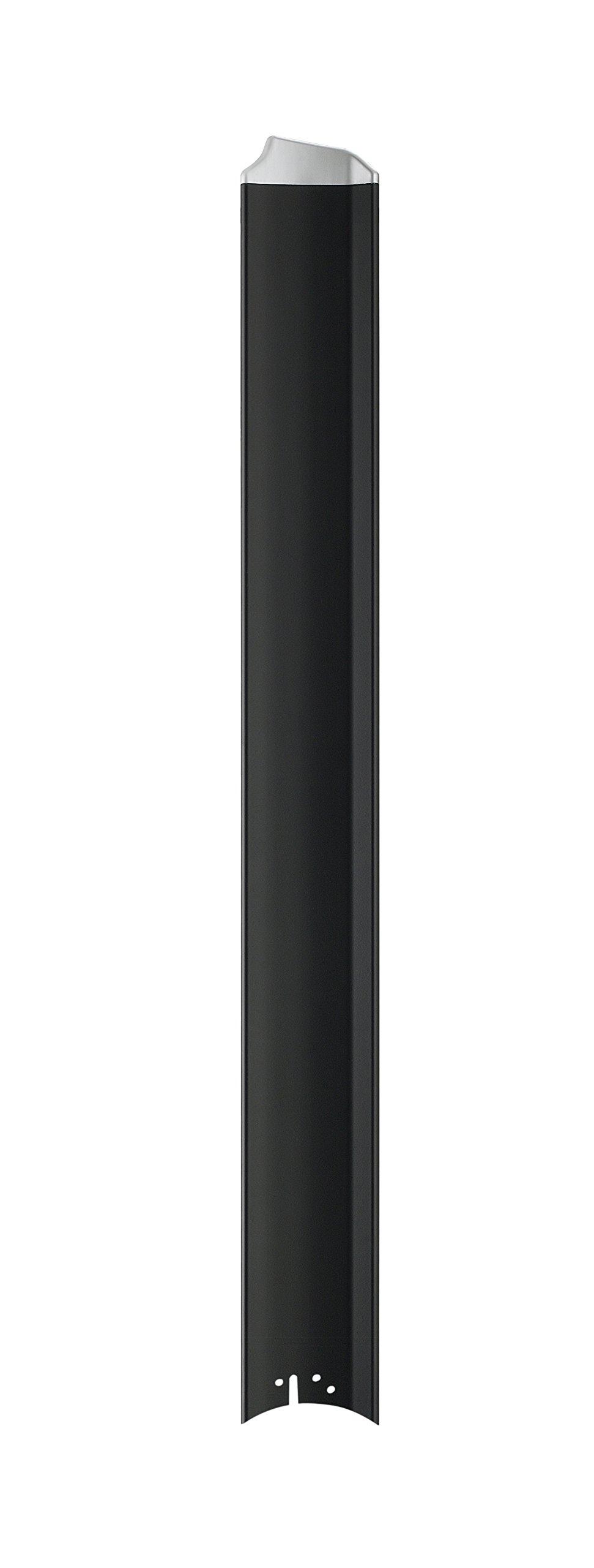 Fanimation B7997-64BLW Fan Blades, Black with Silver Tip