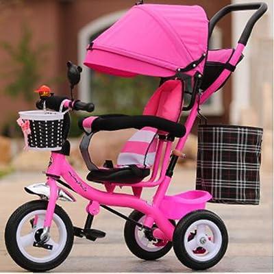 Chariot bébé Enfants tricycle mâle et femelle bébé vélo / 1-2-3-6 ans kid vélo bébé chariot. BICYCLETTE