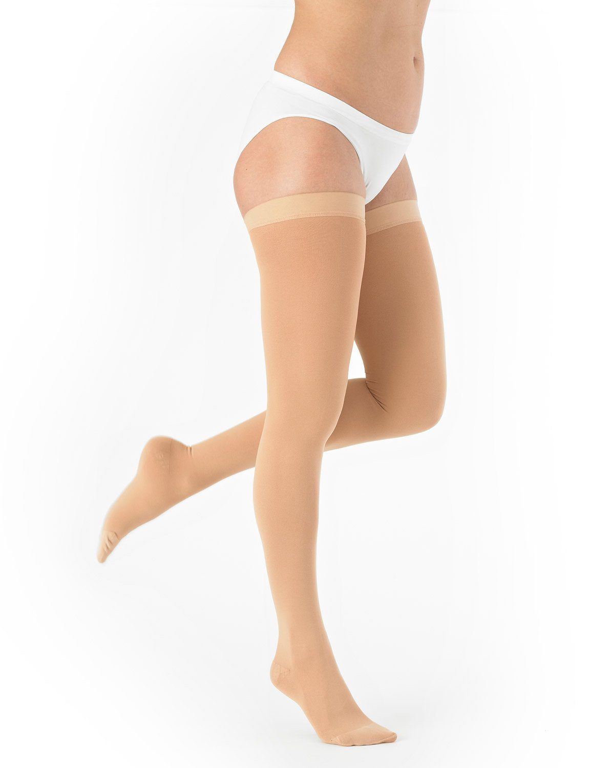 NEO G Thigh High Compression Hosiery (Closed Toe) - XX-LARGE - Black - Medical Grade True Graduated Compression 20-30mmHg HELPS reduce symptoms of tired, aching legs, mild oedema (edema) & swelling