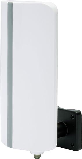 Digitalbox 77 – 0406 – 00 Digit T de 3 Antena Activa Exterior (DVB-T2 HD/DVB-T, FM, Dab +, Full HD, amplificación: 20 dB), Color Blanco