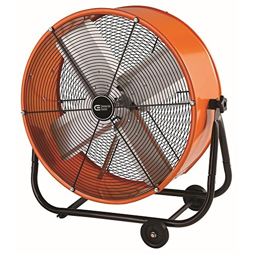 Price comparison product image Commercial Electric 24 in. Heavy Duty 2-Speed Direct Drive Tilt Fan
