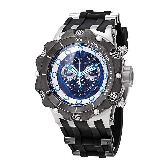 Invicta 22936 Venom - Reloj de cuarzo multifunción para hombre, esfera negra: Amazon.es: Relojes