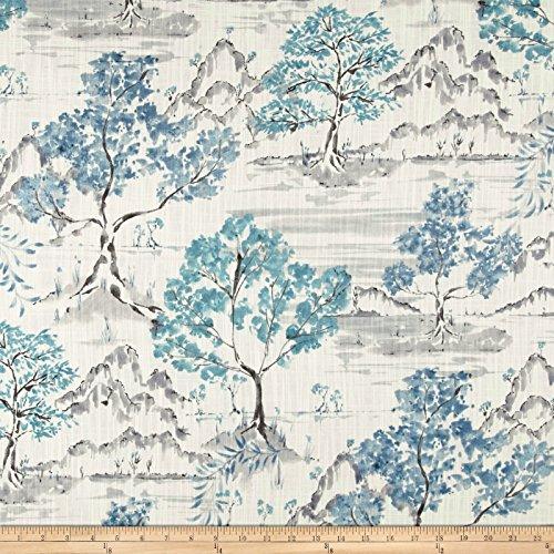 Covington Fabrics & Design Covington Hikaru Toile Antique Blue,