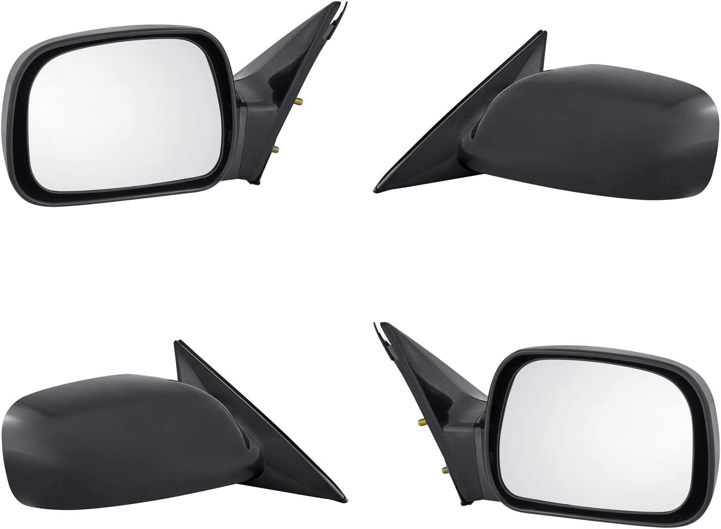 TO1320210 Power for 2002-2006 Toyota Camry Black Roane Concepts Replacement Left Driver Side Door Mirror Non-Heated