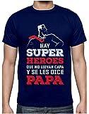 Green Turtle Camiseta para Hombre - Mi Papá es mi Súper Héroe - Regalo Original para Papá