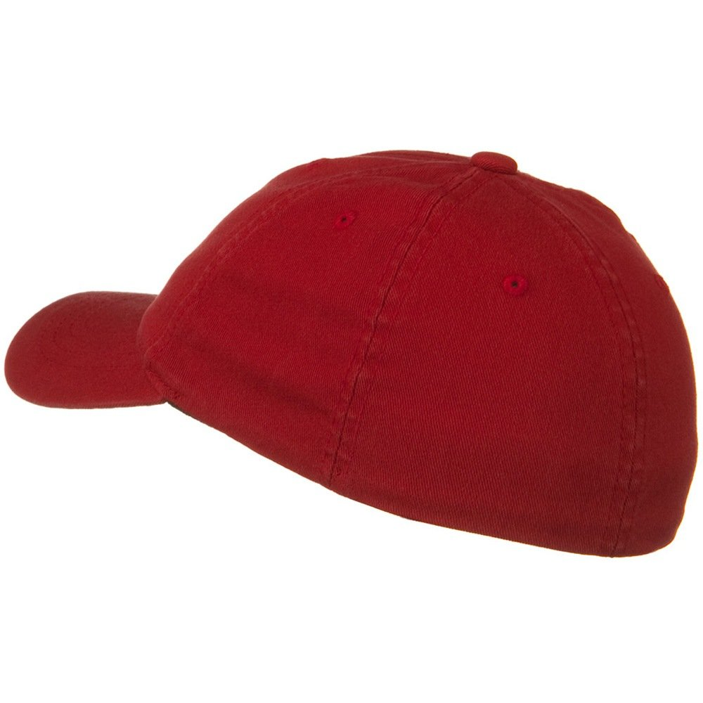 Youth Flexfit Garment Washed Cotton Cap Red