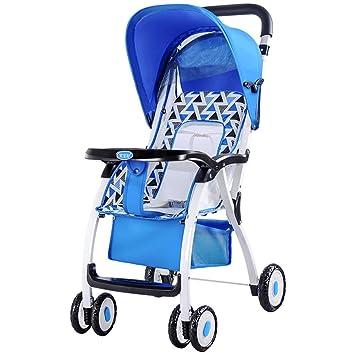 Baby Stroller Carrito de bebé Carro de bebé portátil Ligero Plegable ...