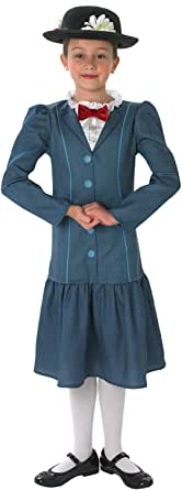 Official Disney Girls Mary Poppins Rich Victorian World Book Day Week Fancy Dress Costume Outfit Ages 3-12 Years
