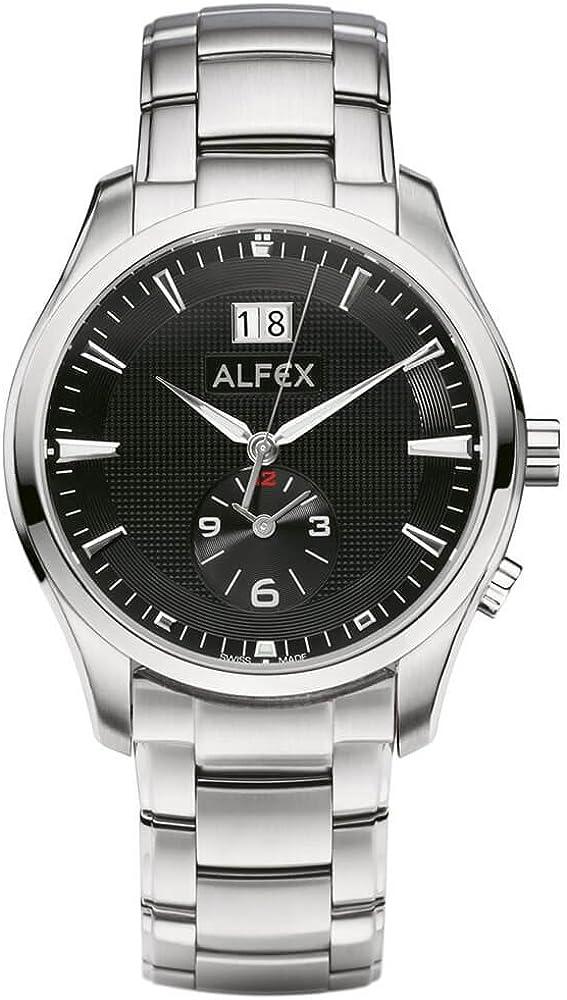 Alfex Reloj de pulsera hombre Cristal de zafiro 5562–310