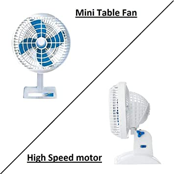 Xodi Ashoka/Laurels Mini Table Fan || Small Size || Hi-Speed