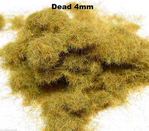 WWS Dead 4mm Mix Model Basing Static Grass 10g G,O,HO/OO,TT,N.Z Wargames