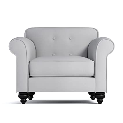 Apt2B Pico Tufted Back Chair, Stone